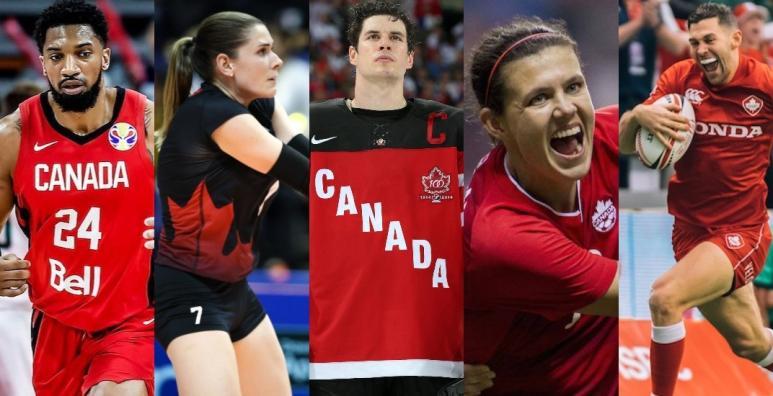 plus grands sportifs canadiens